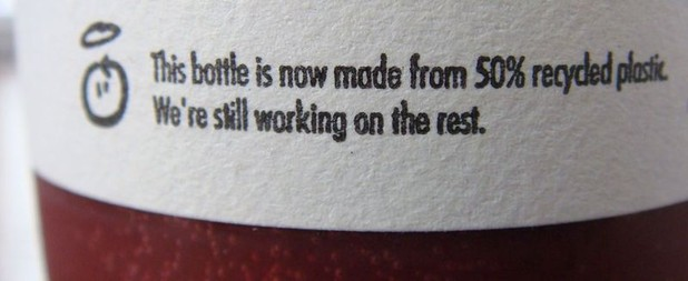 innocent drinks packaging copywriting