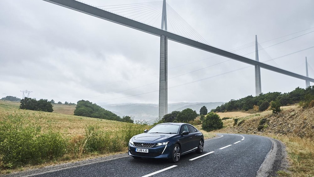 ...you can go under it: the Norman Foster-designed Millau Viaduct
