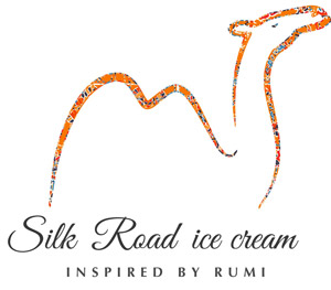 Persian Saffron ice cream - logo