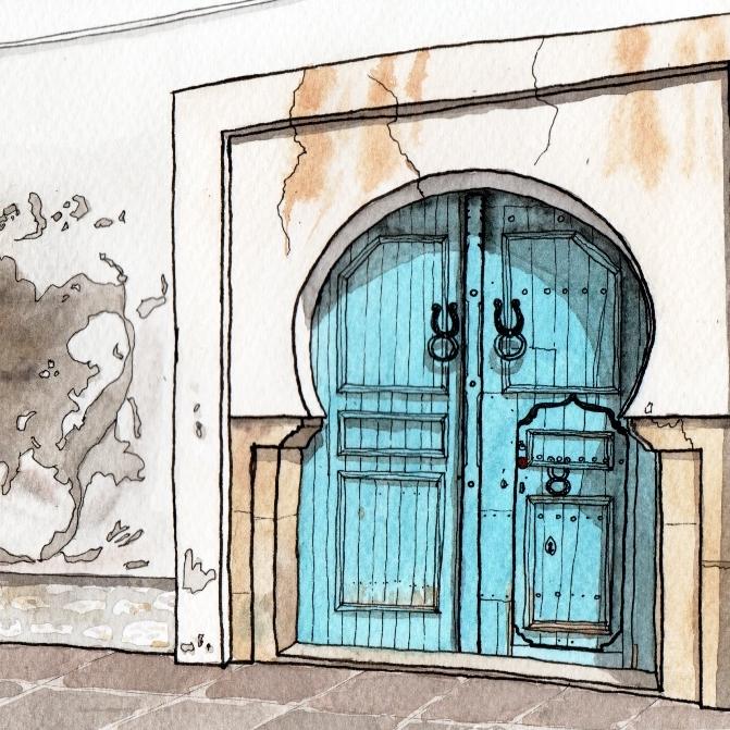 3-Kairouan-Tunus  kapı.jpg