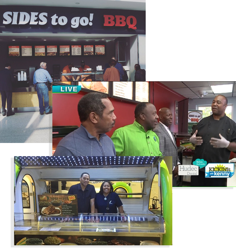 """Thinking beyond brick-and-mortar. - Whether you're a first time entrepreneur testing a new concept, an established catering company, or brick-and-mortar looking to expand, The Food Buggy will help you get to where your customers are.Pictured here:Claude Booker's mobile expansion from """"Simply Southern Sides"""" & """"Sides To Go BBQ"""".Get things rolling with a free consultation ➝"""