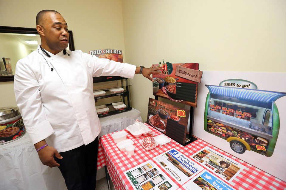 Reinvention: Former corporate chef, sales executive Claude Booker expanding from retail to mobile food industry (photos,video) -