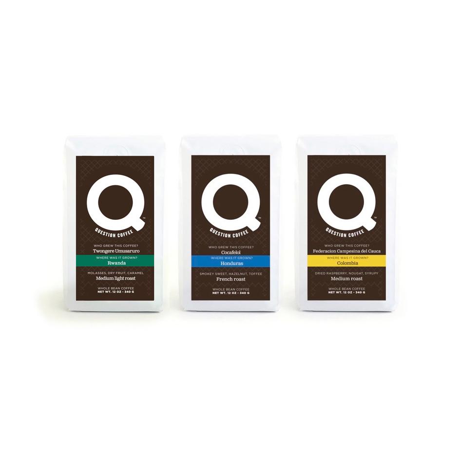Question Coffee™ Bi-Weekly Subscription $24.99 Bi-Weekly