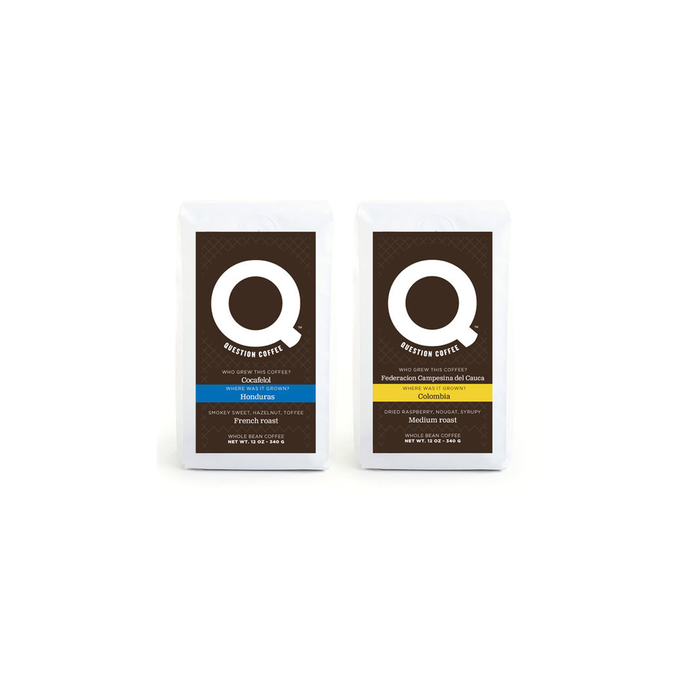 Question Coffee™ Monthly Subscription $38.99 Per Month