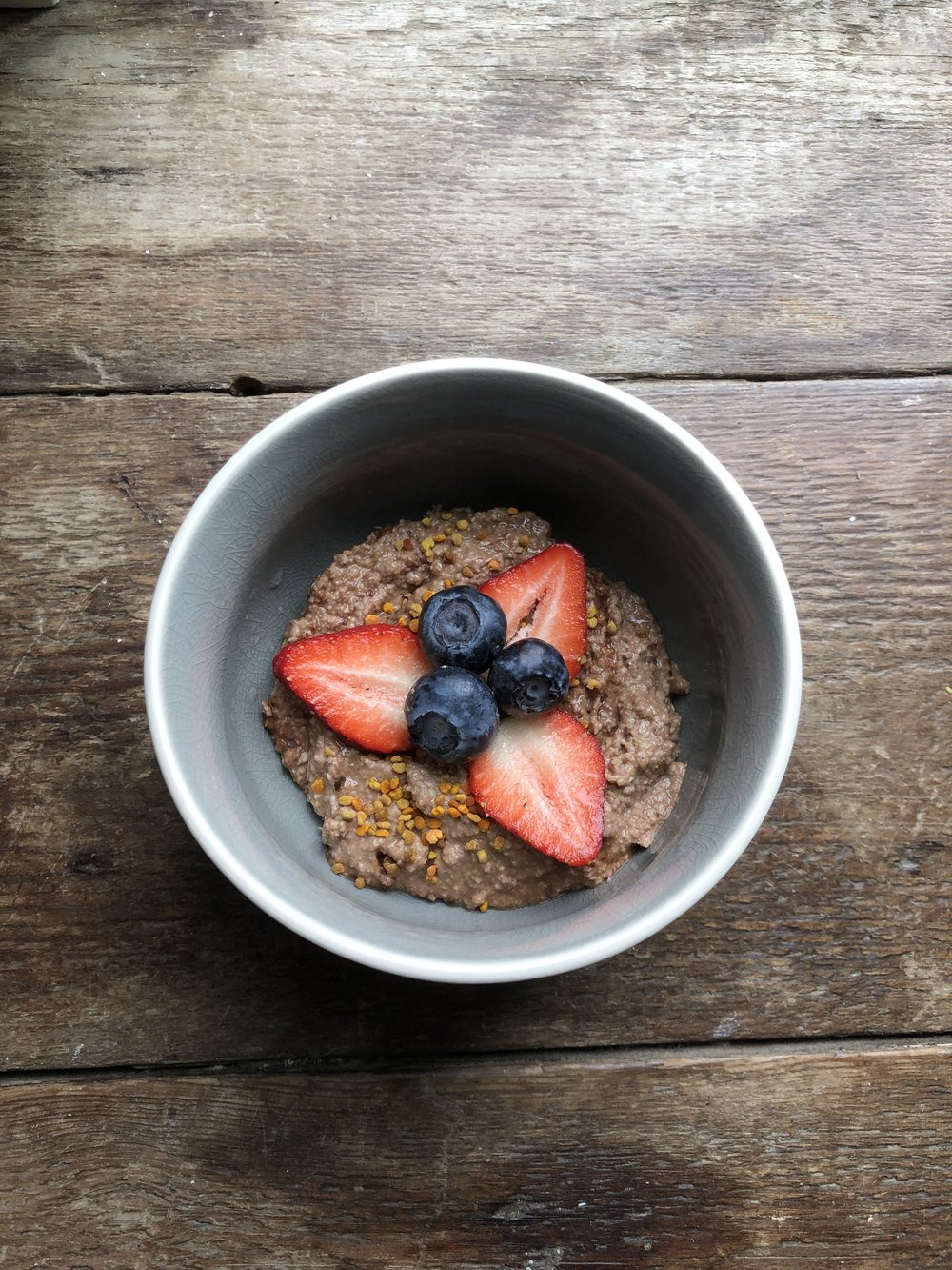 Buckwheat Maca-Chai Bowl
