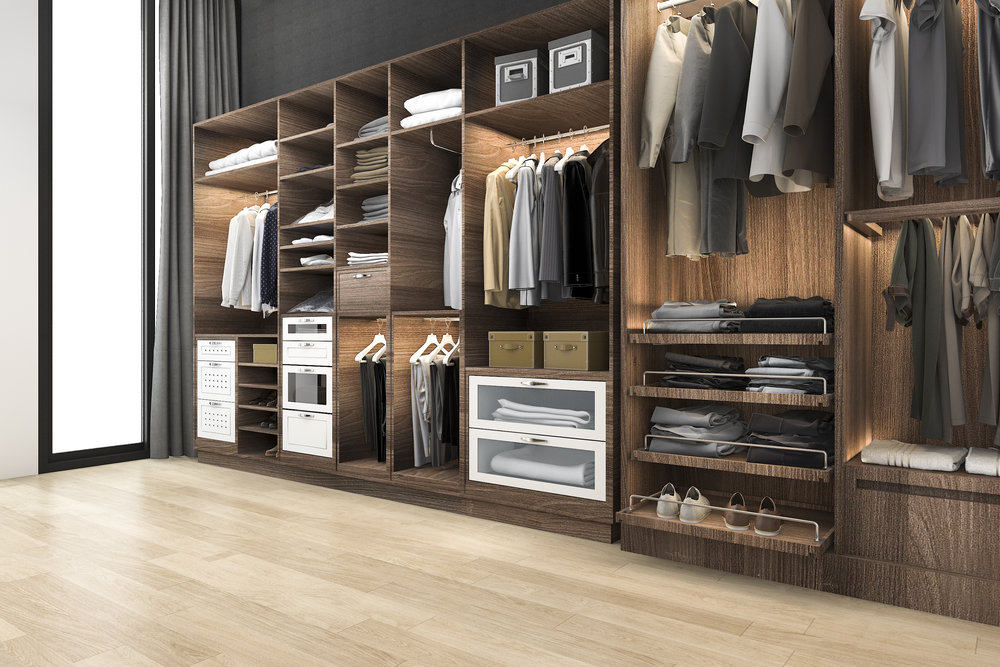 Our Services - We help customers by creating beautiful organizational closet systems, pantries, mudrooms, garages, and offices.