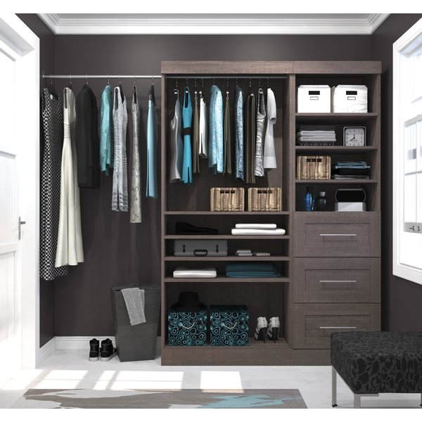 - If you have a walk-in closet, we can make your closet a one-stop dressing room. The days of walking back and forth between the closet, bed and dressers are gone.