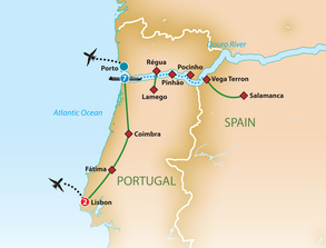 Portugal & the Douro River Cruise - Wednesday, October 9 - Saturday, October 19, 2019