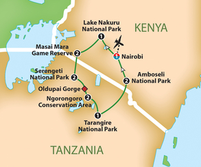 East African Safari Adventure - Thursday, October 17 - Tuesday, October 29, 2019