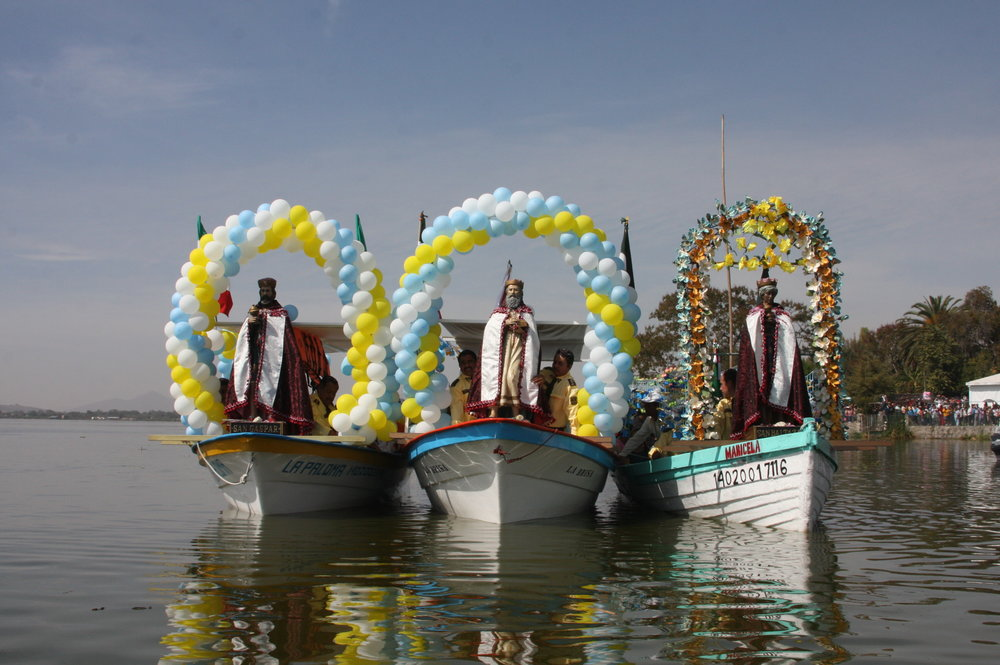 The Three Kings or Los Santos Reyes on Lake Cajititlan near Ajijic