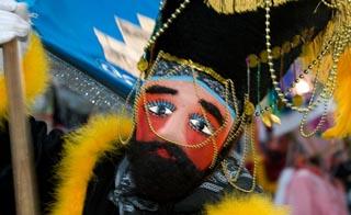 Masked Carnival Dancer