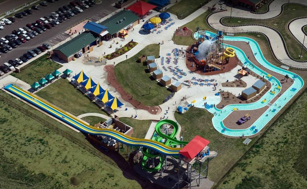 - Andy Alligator's Fun Park & Water Park features outdoor activities as well as indoor games, party rooms and a Café & Pizzeria. The 8-acre facility offers a water park, go-carts, miniature golf, and much more!