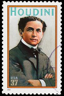 Harry Houdini, one of the original debunkers.