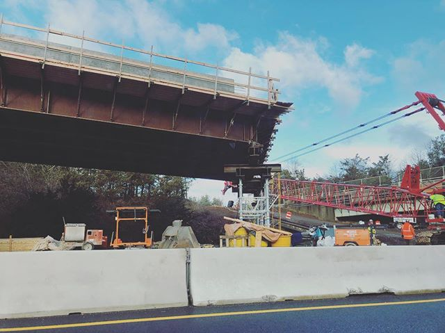 Well, that's impressive. #bridgeconstruction #ontheroad #ilookup #architecture #engineering