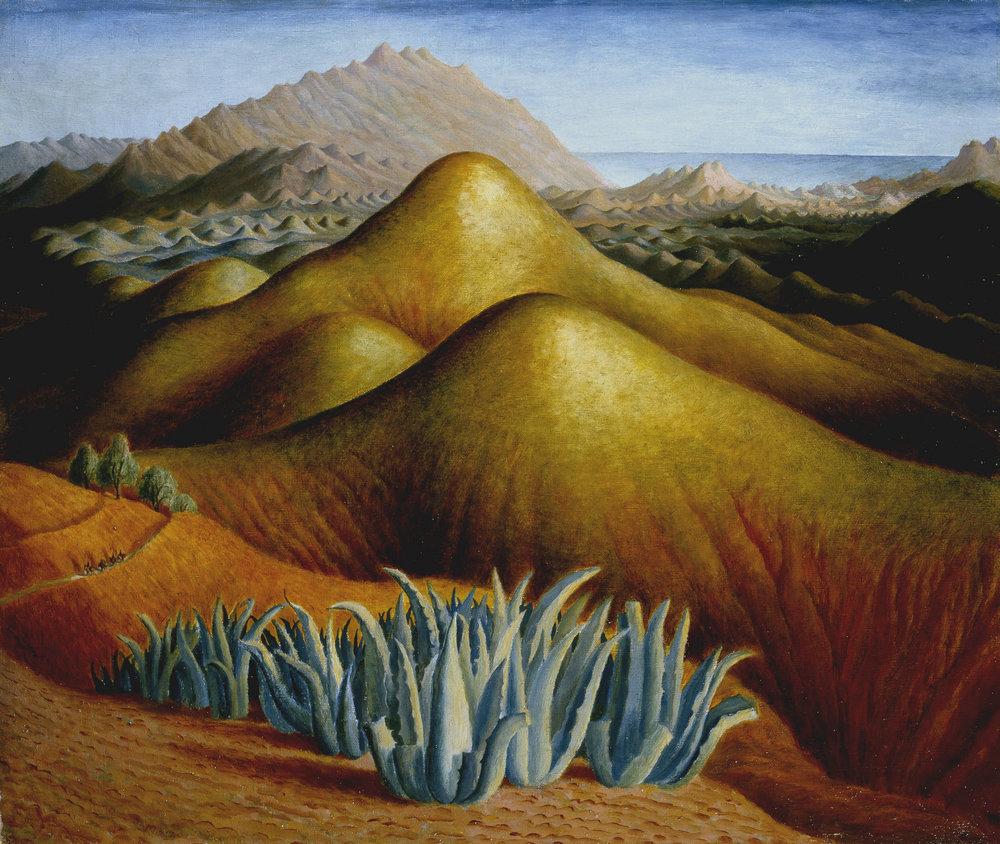 Dora Carrington 'Spanish Landscape'