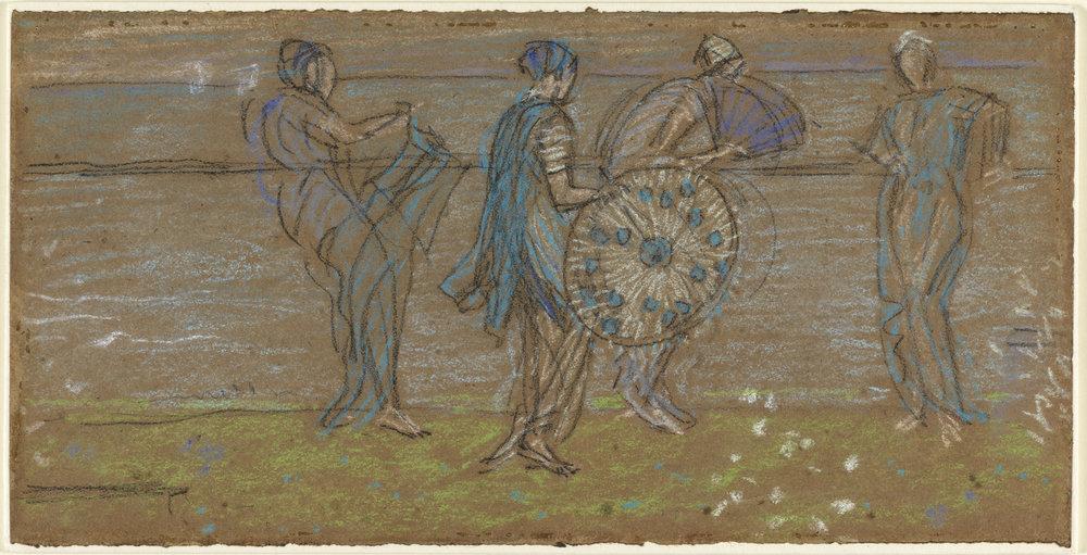 Four Ladies in Japanese Costume (c) Fitzwilliam Museum