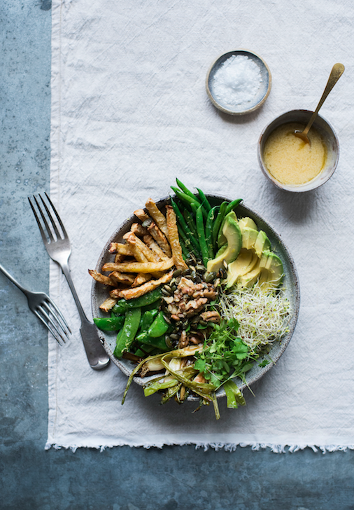 GRAZIA RECIPE – ALL GREEN VEG BOWL