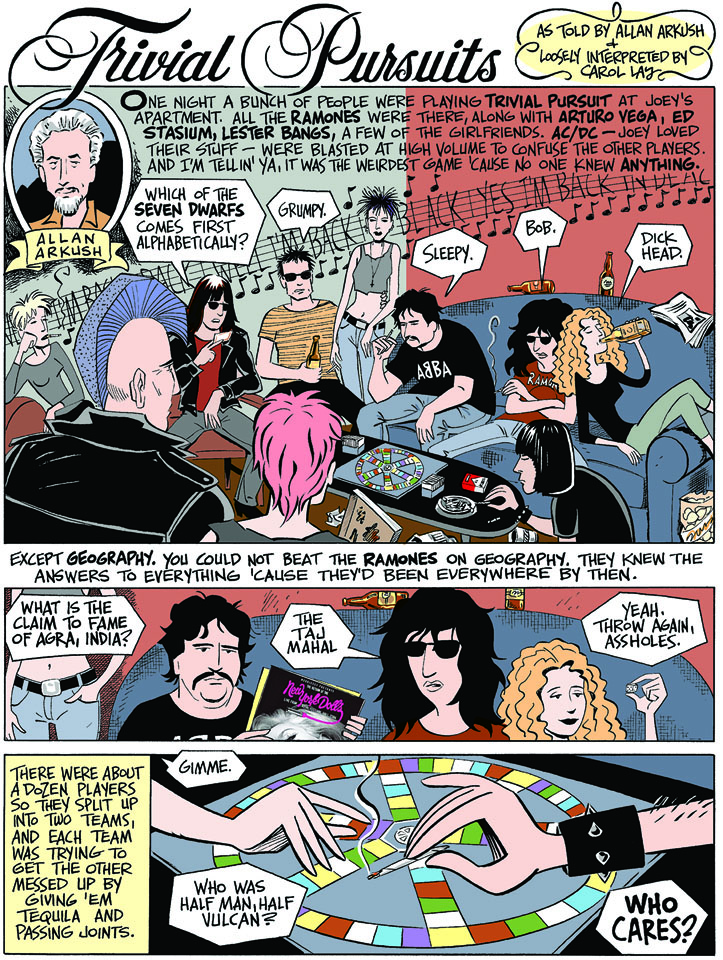 Ramones Box Set comics 1