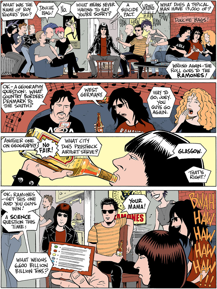 Ramones Box Set comics page 2