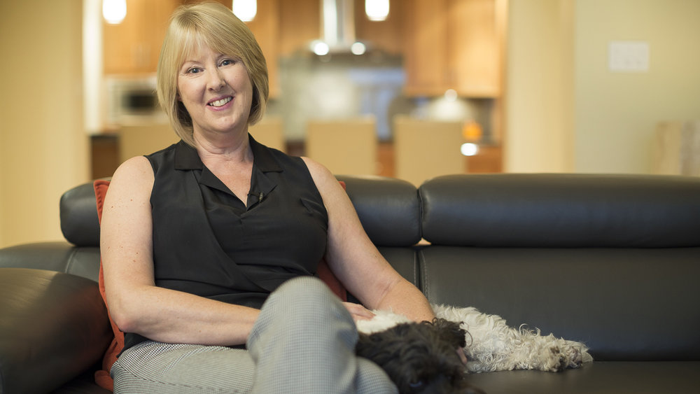 """Janet's Story - """"Five years ago I was diagnosed with lung cancer. It was a huge shock. Like most people, I thought only people who smoked got lung cancer. But that's not the case."""""""