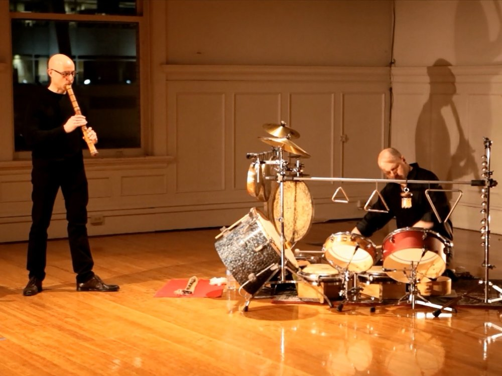 Improvisation for shakuhachi & percussion