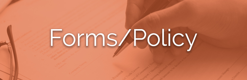 Section 8 forms/policy