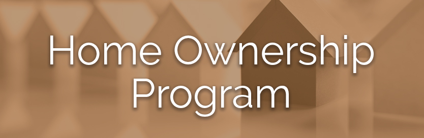 Home ownership program button