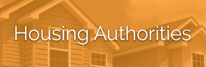 Housing Authorities button