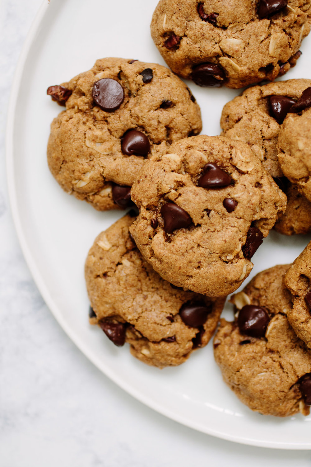 Chocolate Chip Cacao Nib Cookies