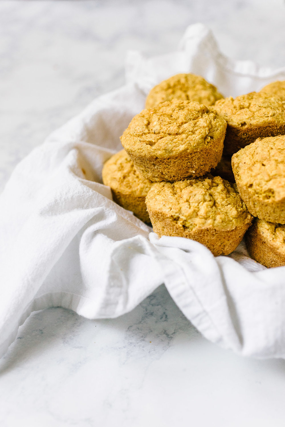 Vegan Corn Muffins sweetened with maple syrup and sweet corn