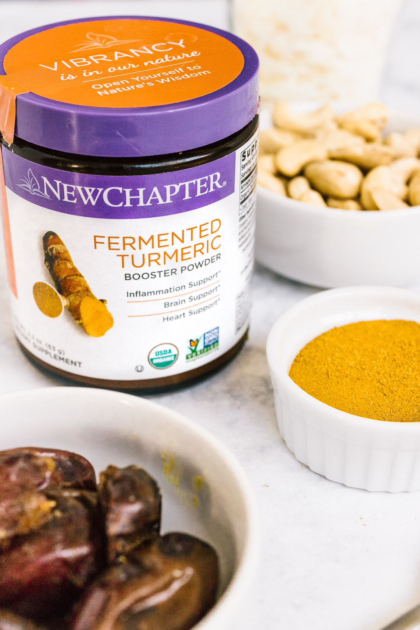 New Chapter Turmeric Booster Powder