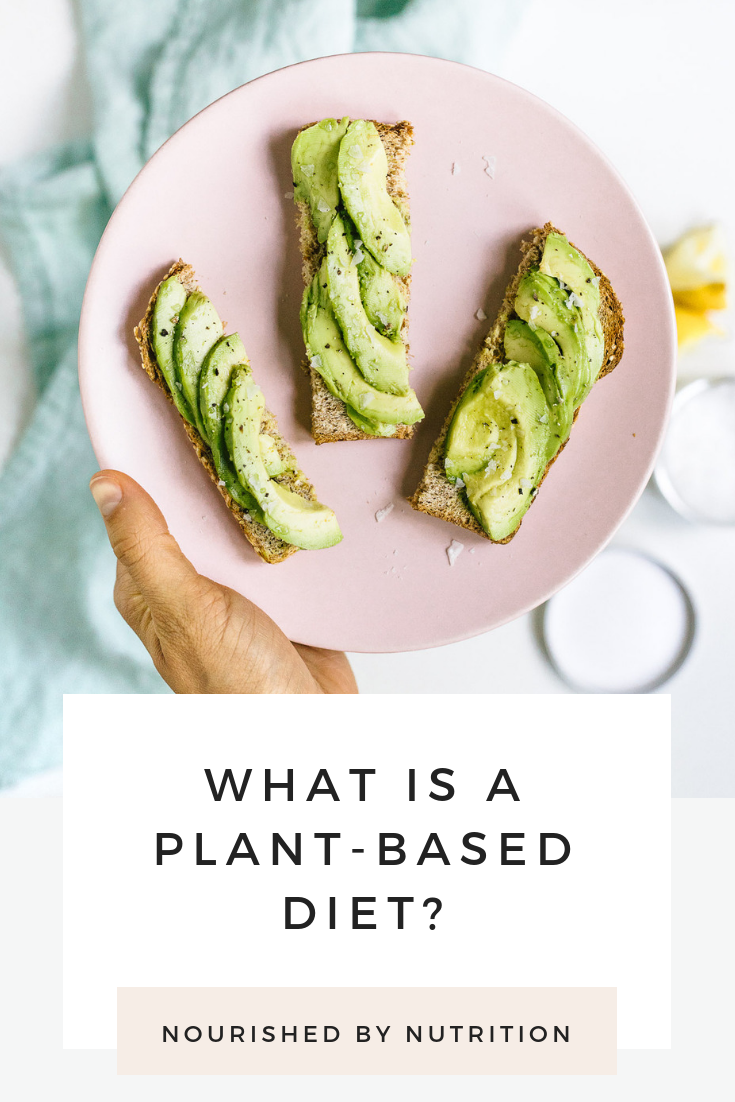 What is a Plant-Based Diet- Pinterest Image