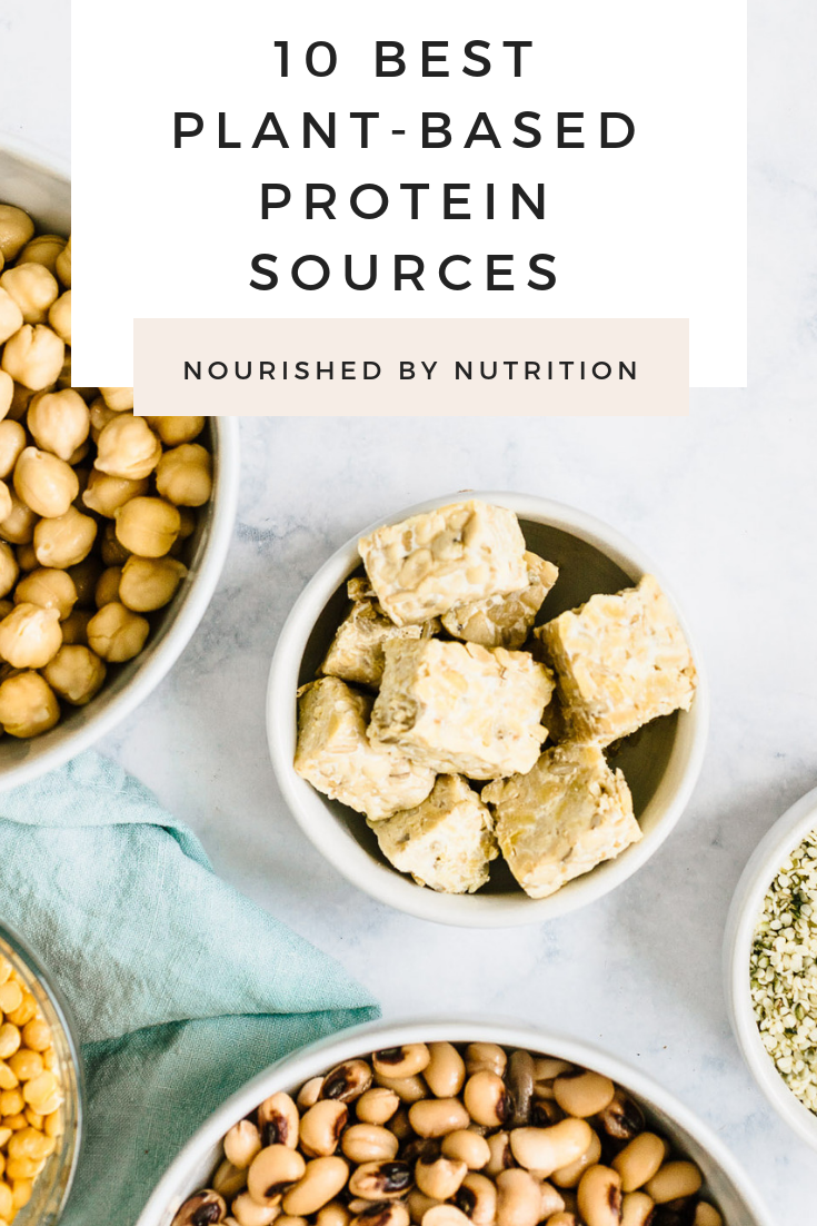 best plant-based protein sources