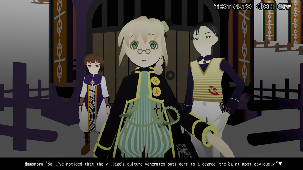the protagonist, hamomoru tachibana (center)