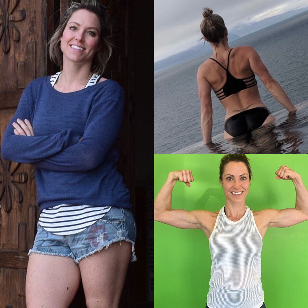 """- """"The online program was so great because it was easy to follow, I knew what I was getting into each week and could schedule my own sessions and boot camps sessions alongside the online program. The videos really helped me understand the workouts and the community around the online program was very motivating and engaging."""""""