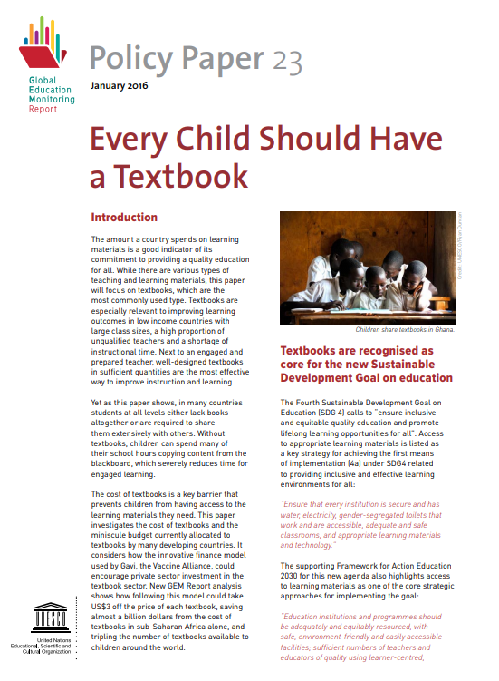 Every Child Should Have a Textbook UNESCO.png