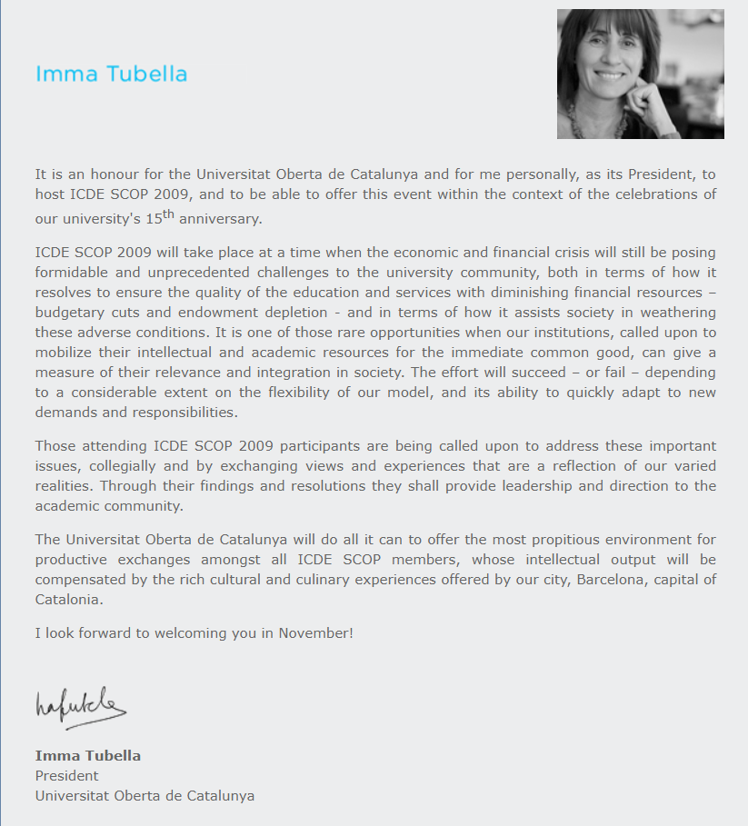Welcome Message Imma Tubella.png