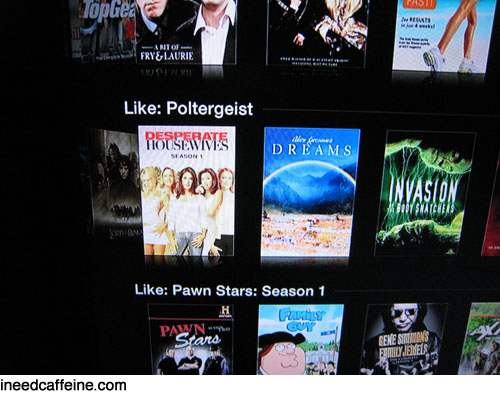 Netflix says Poltergeist is like Desperate Housewives