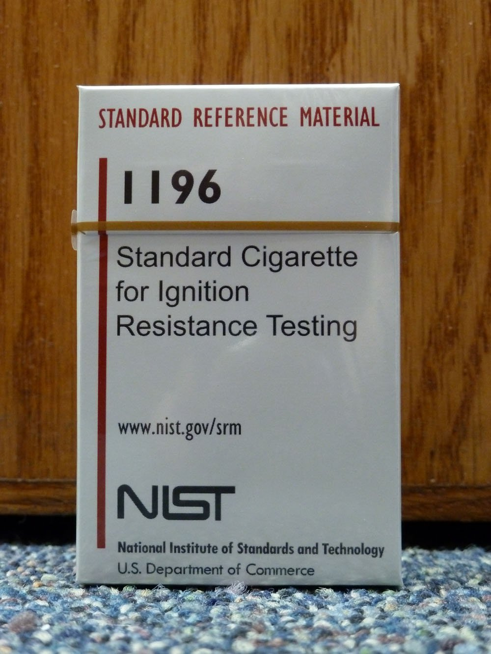 US Govertnment NIST Cigarettes