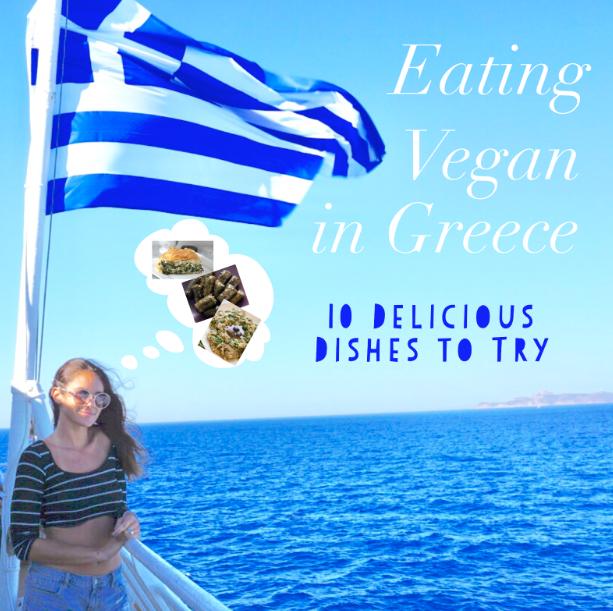 eating vegan in greece
