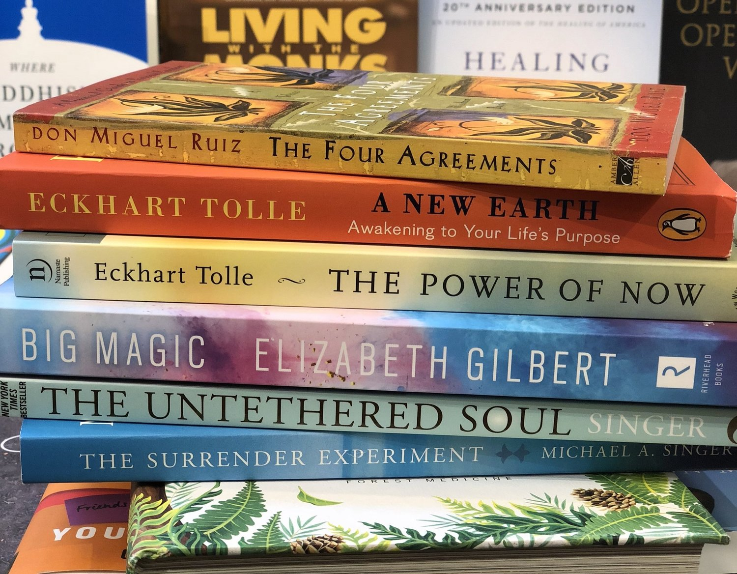 12 Books On Yoga Spirituality That Will Change Your Life Alice S Atlas Travel Yoga Lifestyle Blog