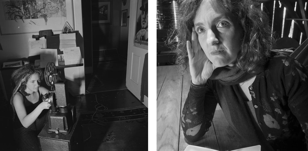 Molly, 1997 and 2018, photos by Larry Fink