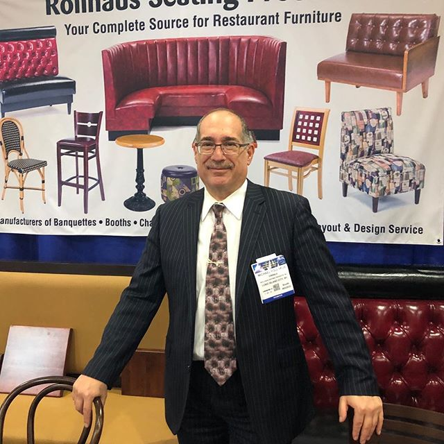 Come to the Javits Center Booth2032. Rollhaus Seating Products #restaurantfurniture #restaurantdesign #coffeefest #cooltie