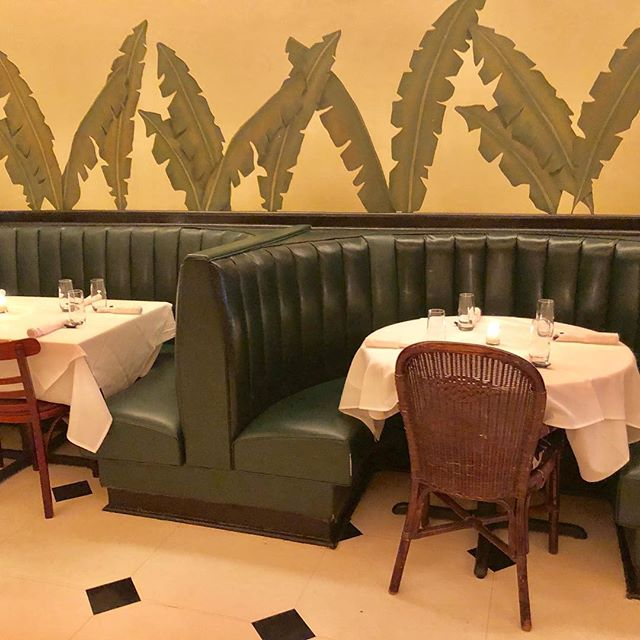 Indochine 430 Lafayette NYC About 35 years old The original frames Rollhaus Seating Products reupholsters a piece or two yearly for maintenance ! #seatingproducts #indochinenyc #restaurantdesign #reupholstery #greatrestaurantfurniture