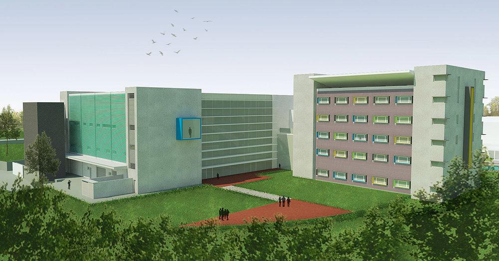 unicamp - centro do professor visitante - ampliação