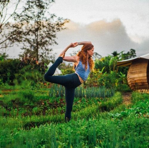 Julie Quinn - In the Mandala Garden at Kinkára.