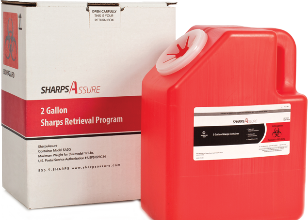 FDA and US Postal Service-approved mail-back programs
