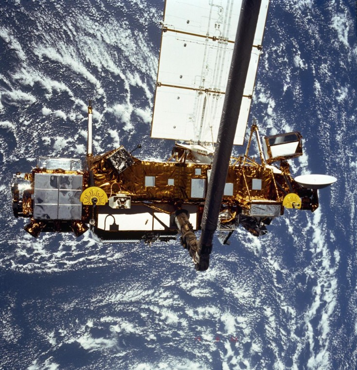 1991 Upper Atmosphere Research Satellite. Credit: NASA