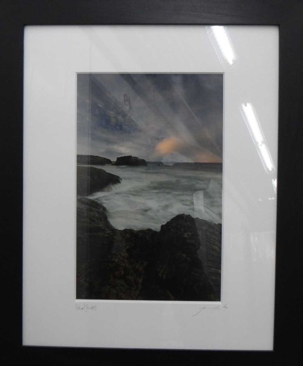 """Title: Natural Bridges  Medium: Photo  Dimensions: 20"""" x 13""""  Framed: 33"""" x 27""""  Price: Contact for Inquiry"""