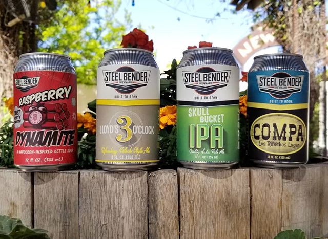 @steelbenderbrewyard has finally made it's way south and we have four of their beers cold and ready for you, El Paso! Build a 6-pack for home or take it next door at the @statelinerestaurant to enjoy with your BBQ. Just let your server know 😉  #cheers  #elpaso #itsallgoodep #craftbeer #epcraftbeer #elpasocraftbeer #drinkmorecraftbeer #drinkcraftbeer #beersofinstagram #beerpic #instabeer #weekend #cheerstotheweekend #friday #tgif #fridaybeer #newmexicocraftbeer #newmexicobeer #newmexico #abq